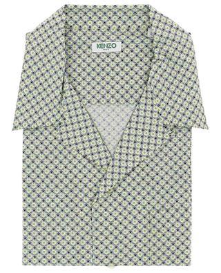 Chemise à manches courtes Monogram Tiger KENZO