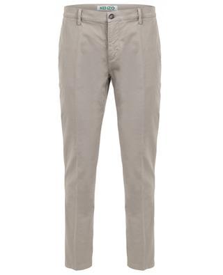 Pantalon chino skinny en coton mélangé KENZO