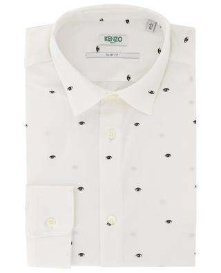 Multi-Eye printed slim fit shirt KENZO