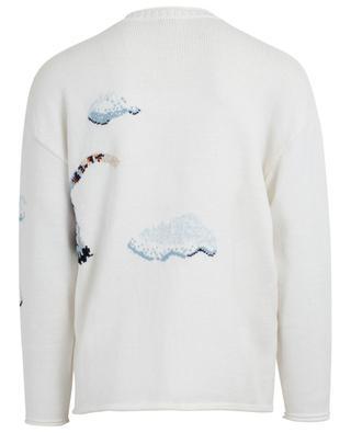 Tiger Cloud embroidered jacquard jumper KENZO