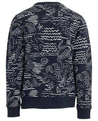 Mermaids printed embroidered sweatshirt KENZO