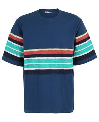 Striped cotton blend T-shirt KENZO
