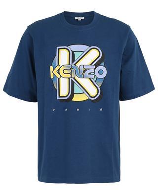 Wetsuit print jersey T-shirt KENZO
