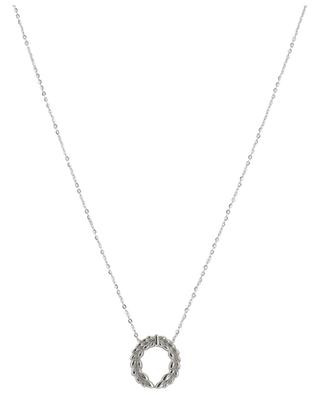 Lauriers silver necklace IKITA