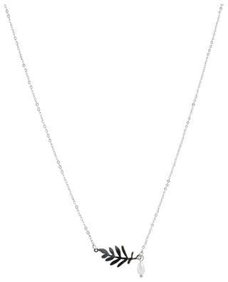 Silberne Halskette Fougère IKITA