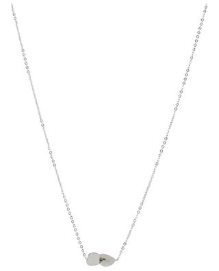 Deux Coeurs steel necklace IKITA