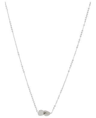 Halskette aus Stahl Deux Coeurs IKITA