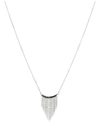 Franges steel necklace IKITA