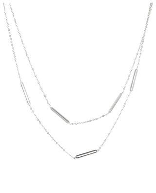Zweistrangige Halskette Maillons IKITA