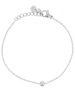 Solitaire bracelet with rhinestone IKITA