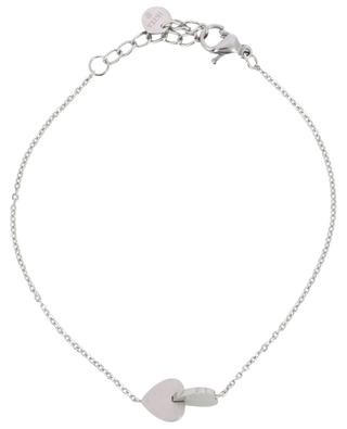 Silbernes Armband Deux Coeurs IKITA