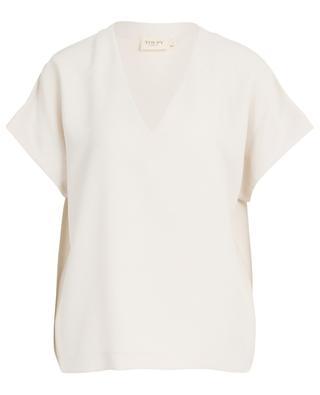 T-shirt décontracté en crêpe Bolivie TOUPY
