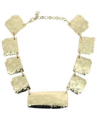 Ortles modular golden necklace MAX MARA