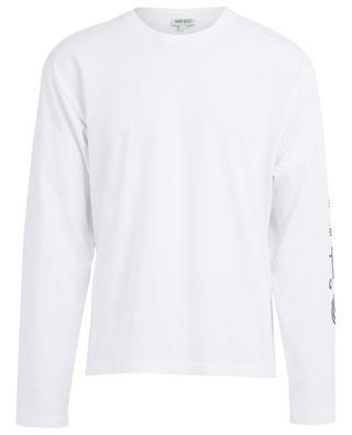 T-shirt à manches longues imprimé logo Kenzo Sport KENZO