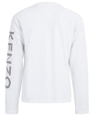 Kenzo Sport long-sleeved logo print T-shirt KENZO