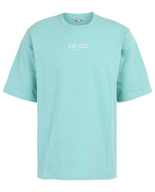 Kenzo Logo embroidered loose cotton blend T-shirt KENZO