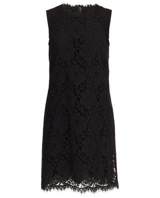 Lace sleeveless short dress DOLCE & GABBANA