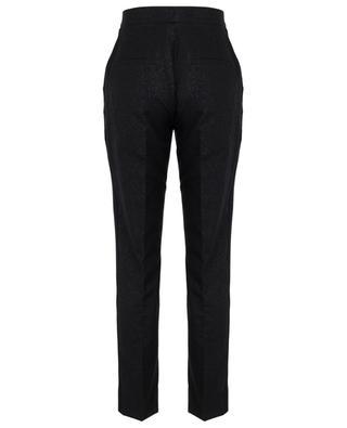 Pantalon droit lamé avec gros grain DOLCE & GABBANA