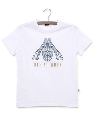 T-shirt en jersey imprimé Bee At Work IL GUFO