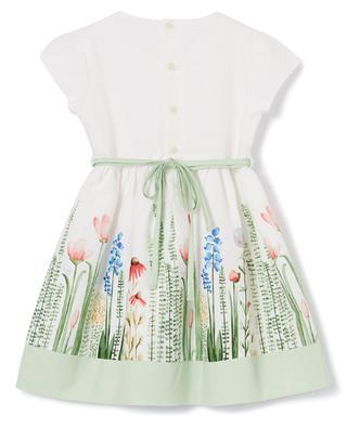 Kleid aus Popeline mit Blütenprint IL GUFO