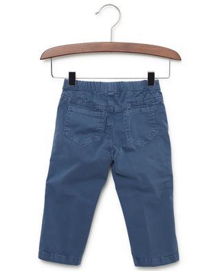 Pantalon en gabardine de coton stretch IL GUFO