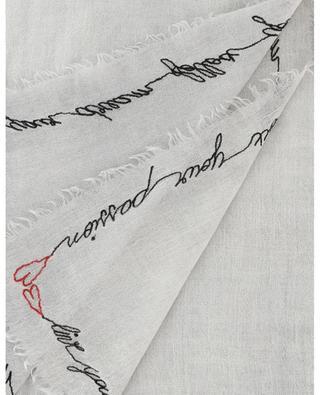 Halstuch aus Woll- und Seidenmix Karel FALIERO SARTI