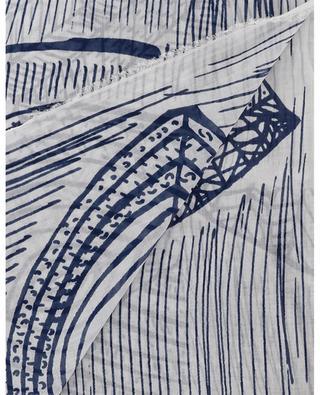 Feiner Schal aus Baumwolle mit Print Felicia FALIERO SARTI