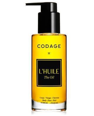 L'Huile - Mélange de 8 huiles d'exception CODAGE