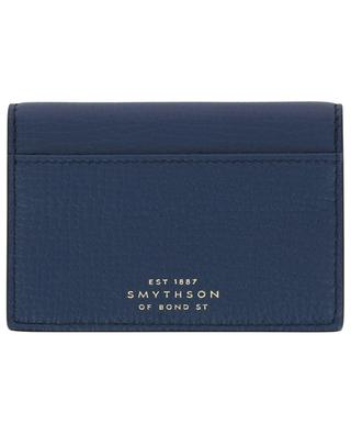 Textured leather coin pouch SMYTHSON