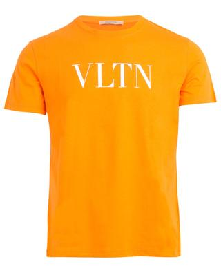VLTN printed neon coloured jersey T-shirt VALENTINO