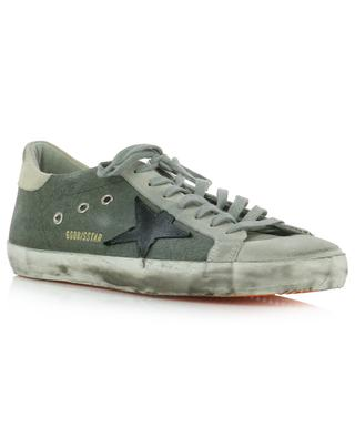 Superstar canvas and suede sneakers GOLDEN GOOSE
