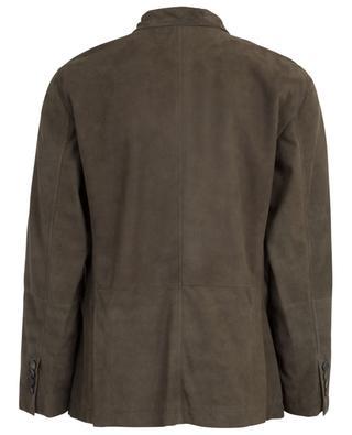 Suede lightweight jacket BRUNELLO CUCINELLI