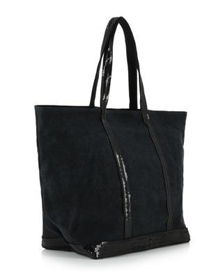 Linen tote bag with sequins VANESSA BRUNO