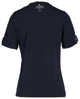 T-shirt slim embelli d'une étoile en cristaux Swarovski LORENA ANTONIAZZI