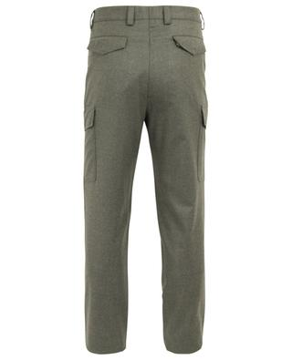 Virgin wool straight trousers BRUNELLO CUCINELLI