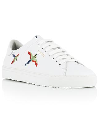 Niederige bestickte Ledersneakers Clean 90 Tori Bird AXEL ARIGATO