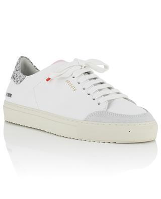 Baskets blanches détails gris, roses et paillettes Clean 90 AXEL ARIGATO