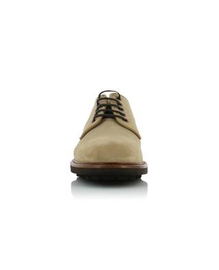 Suede derby shoes with lugged soles BRUNELLO CUCINELLI