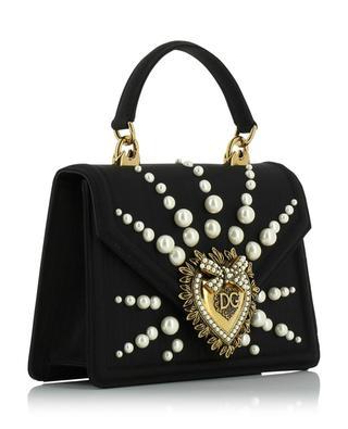 Devotion pearl embellished silk mini bag DOLCE & GABBANA