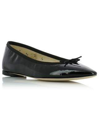 Narde pointy tip patent leather ballet flats REPETTO