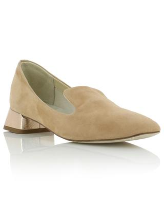 Mathis suede loafers with small heels REPETTO