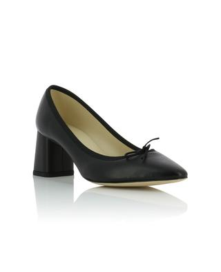 Nastasia leather pumps with block heels REPETTO