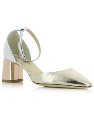 Sandalen aus Metallic-Leder Naiade REPETTO