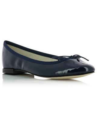Cendrillon round tip patent leather ballet flats REPETTO