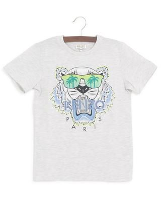 Tiger Cali Party printed mottled T-shirt KENZO