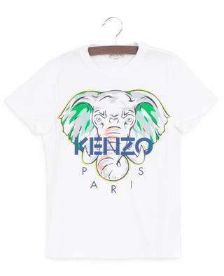 Disco Jungle elephant print T-shirt KENZO