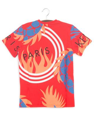 Dragon Celebration multicolour boys' T-shirt KENZO