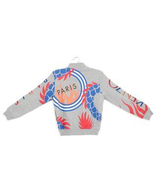 Dragon Celebration embroidered printed sweat jacket KENZO