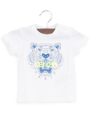 Tiger printed jersey baby T-shirt KENZO