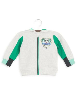 Disco Jungle elephant embroidered baby track suit KENZO
